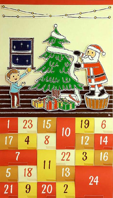 Imprime tu propio calendario de adviento pequeocio for Calendario adviento ninos