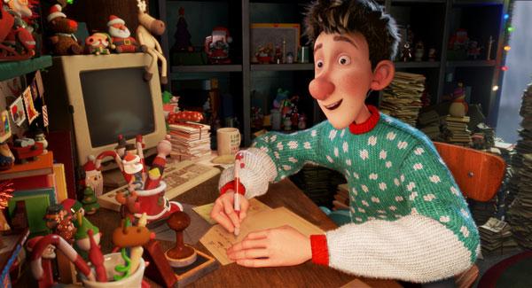 Cine infantil Arthur christmas operacion regalo