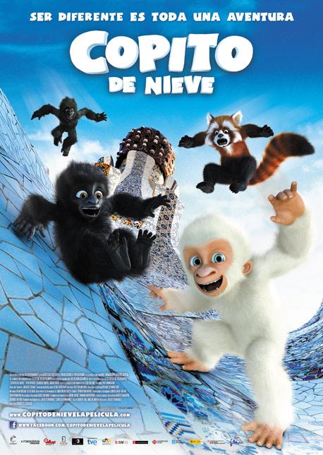copito de nieve cine infantil