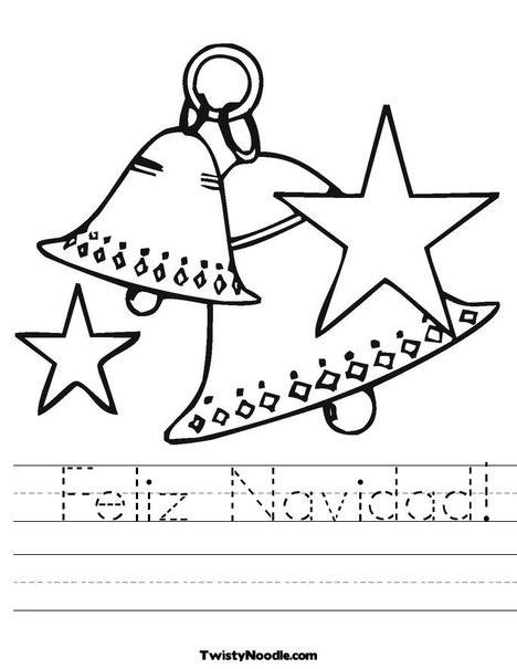 Dibujos para colorear de navidad pequeocio - Laminas de navidad para colorear ...