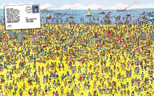 Dónde está wally libro