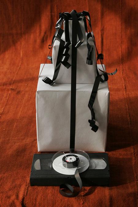 Envolver regalos reciclando