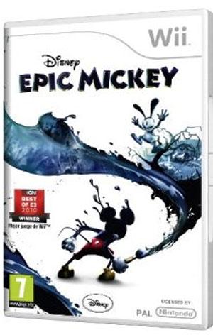 Epic Mickey juego de la Wii para niños