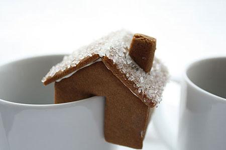 galletas de jengibre casitas