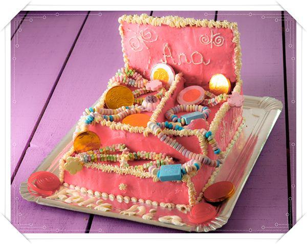 Receta para una tarta de cumpleaos infantil Pequeocio