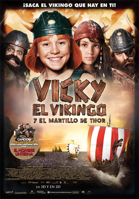 Vicky el Vikingo y el Martillo de Thor BRscreener Esp.2012