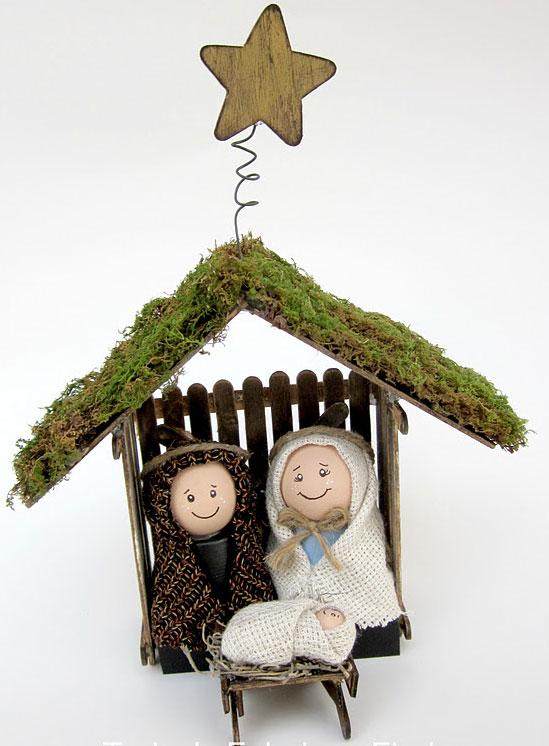 C mo hacer un bel n de navidad pequeocio - Como hacer decoracion navidena para el hogar ...