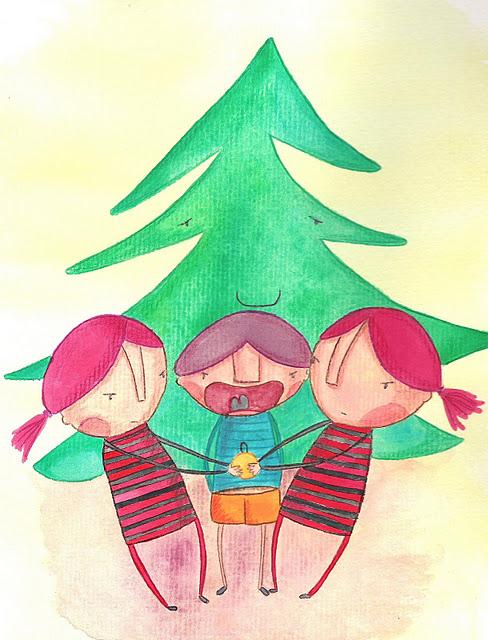 dibujo navidad