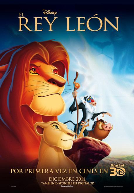 El rey leon en 3d