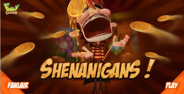 Fanboy y Chum Chum juego Shenaningans