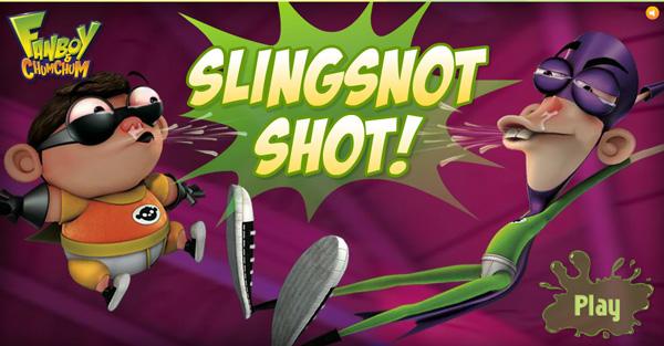 juego fanboy y chumchum slingsnot