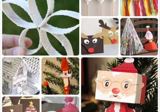 14 manualidades de Navidad para niños 3