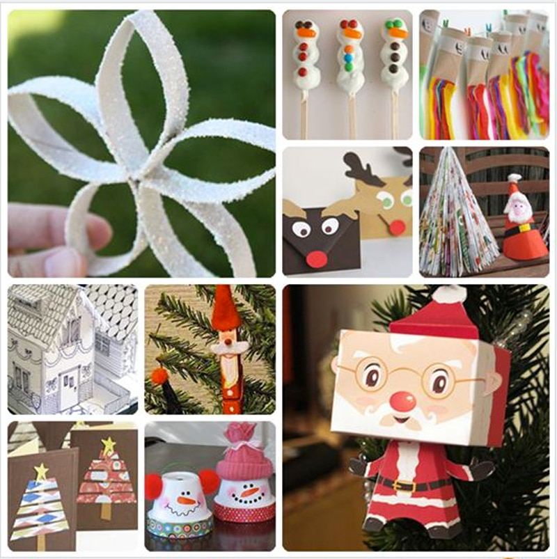 17 manualidades navideñas con rollos de papel higiénico 4