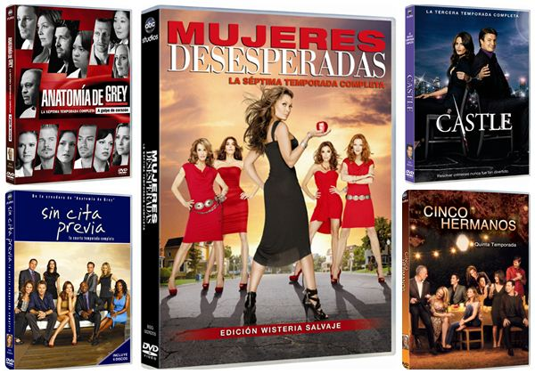 Series television dvd