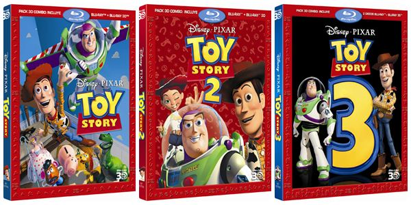 Toy Story DVD trilogia