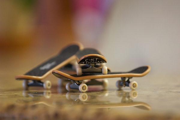 Tech Deck o Finger Skate, skate con los dedos