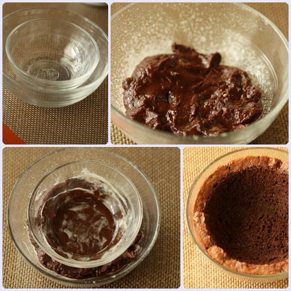 Brownies receta copas