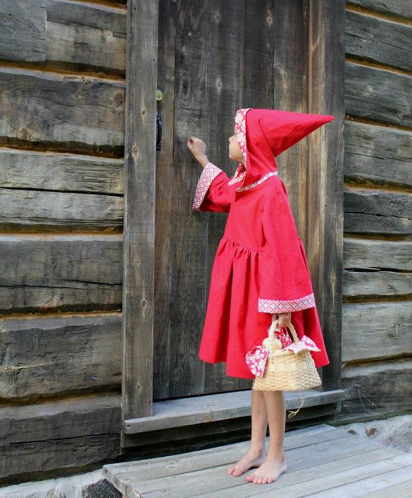 Caperucita roja disfraz