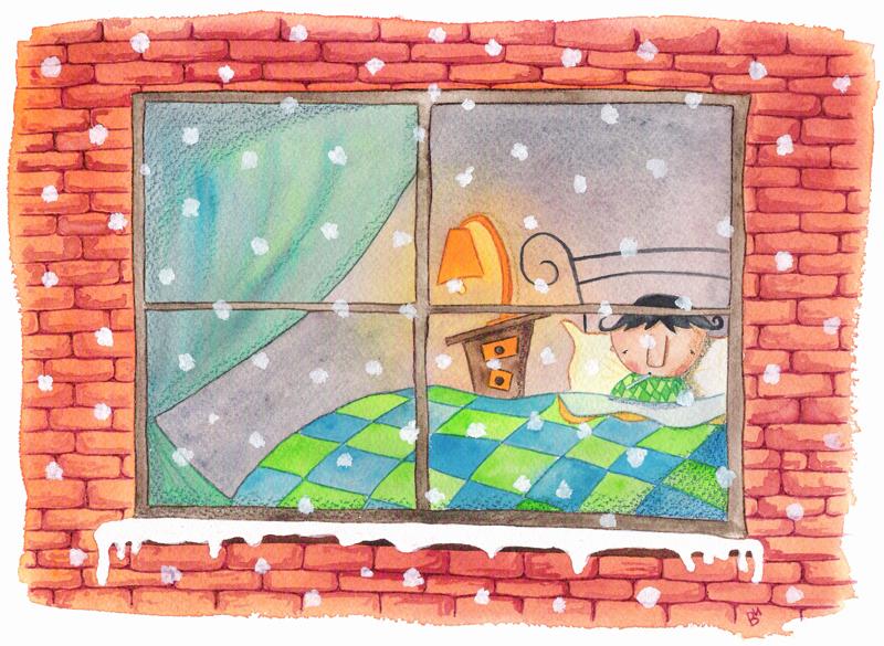 Cuento de Darío y la nieve 3