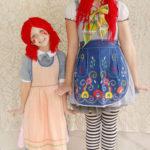 Disfraces caseros muñecas