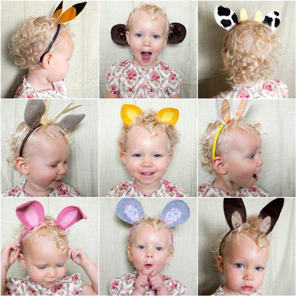 Disfraces caseros animales orejas