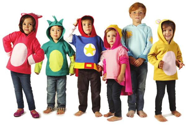 Disfraces ropa infantil