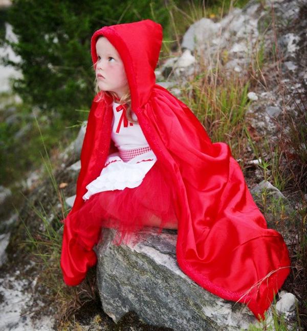 Disfraz Casero De Caperucita Roja Pequeocio