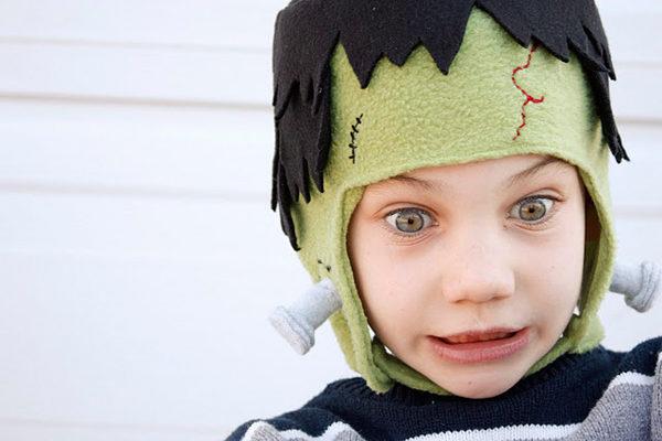 Disfraz casero de Frankenstein