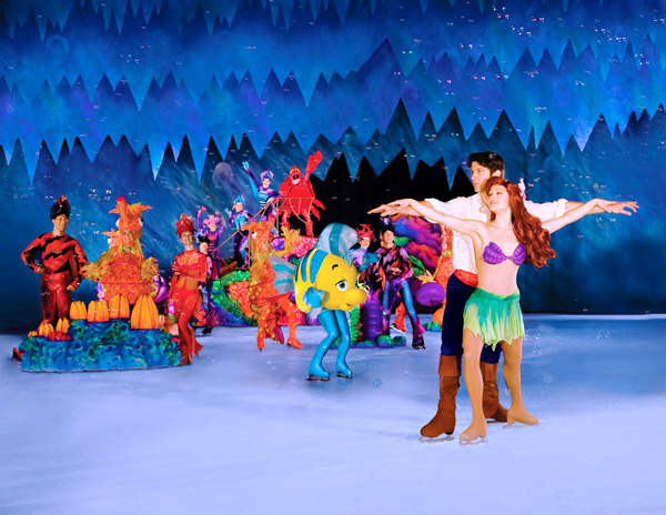 Disney on ice espectáculo Disney sobre hielo