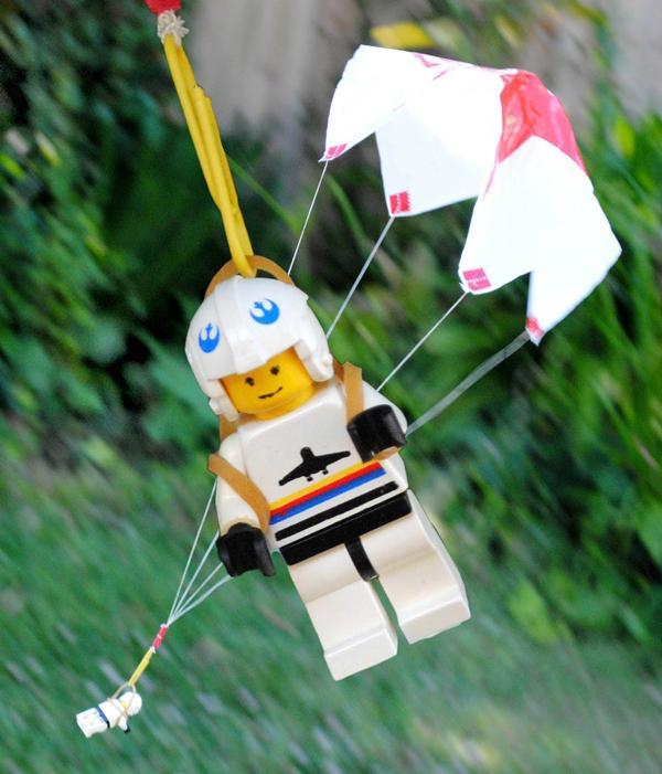 Juegos de paracaídas