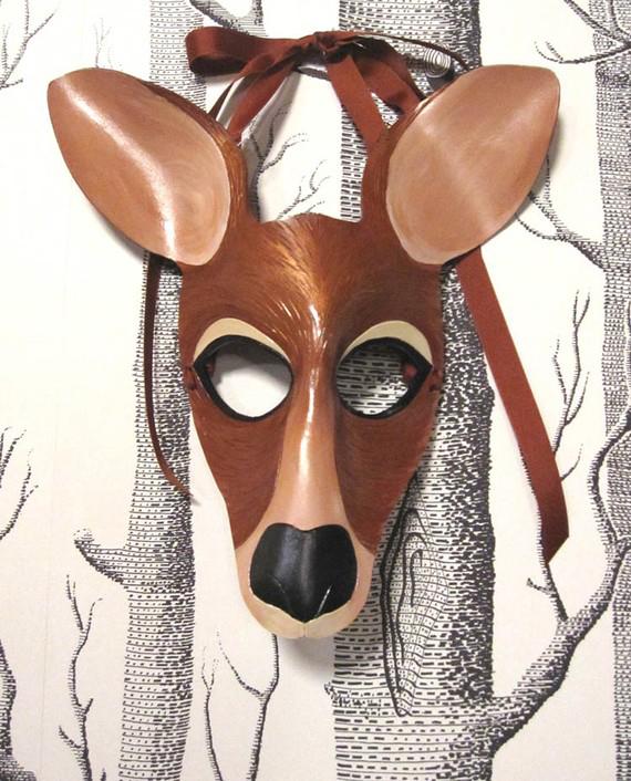 máscara ciervo