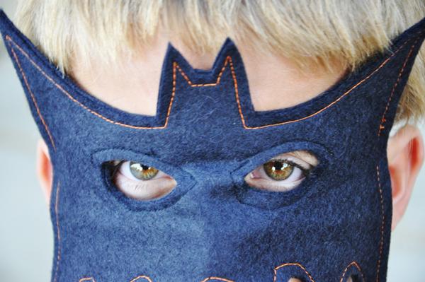 Máscaras de disfraz de Batman