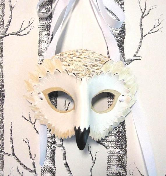 máscara buho