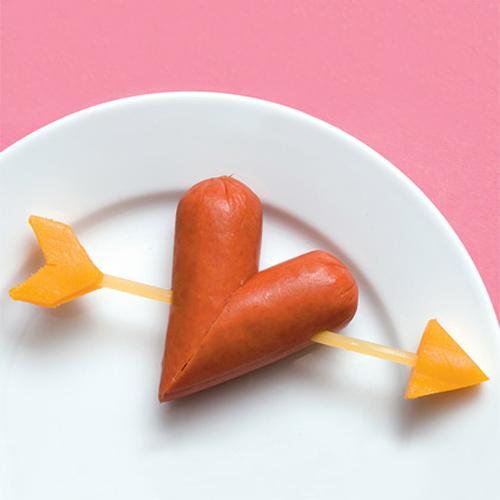 San Valentín cena divertida