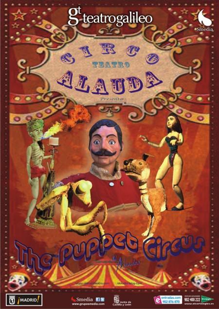 The puppet circus teatro de marionetas