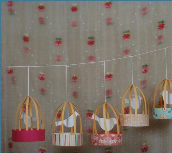 Jaulas decorativas para la habitaci n infantil pequeocio - Cuadros para habitacion infantil ...