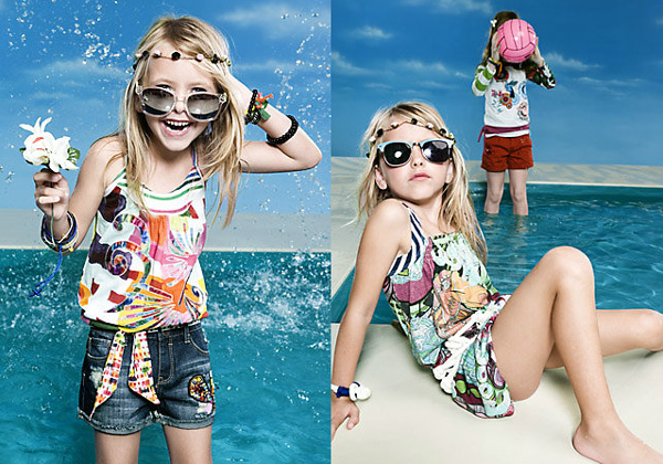Desigual kids primavera verano 2012