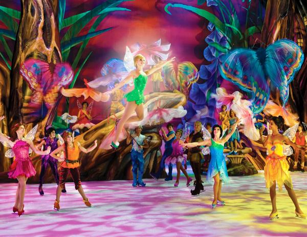 Disney sobre hielo 2012