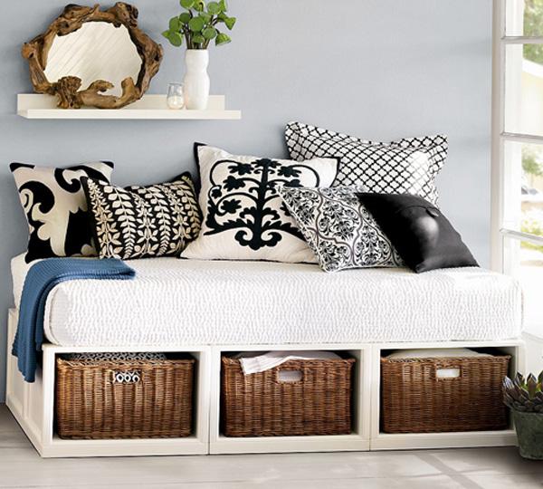 Reciclar el colch n de la cuna pequeocio for Reciclar una cama de madera