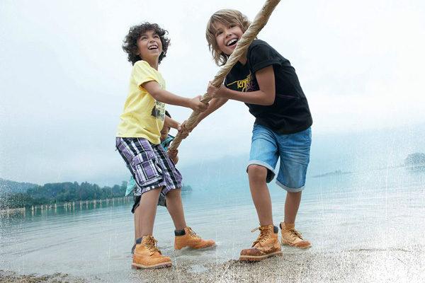 Timberland para niños
