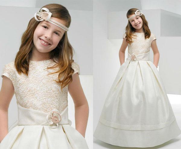 Imagenes de vestidos de primera comunion modernos