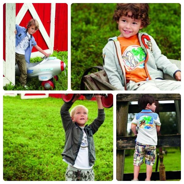 Ropa para niños 2012
