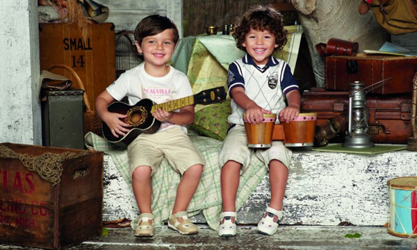 Moda infantil temporada verano 2012