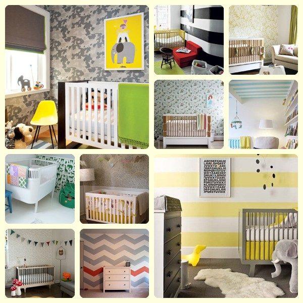 Empapelar habitaciones para bebés
