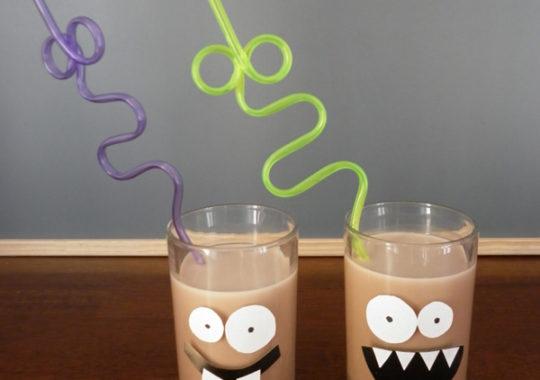 Bebidas para una fiesta infantil de monstruos 7