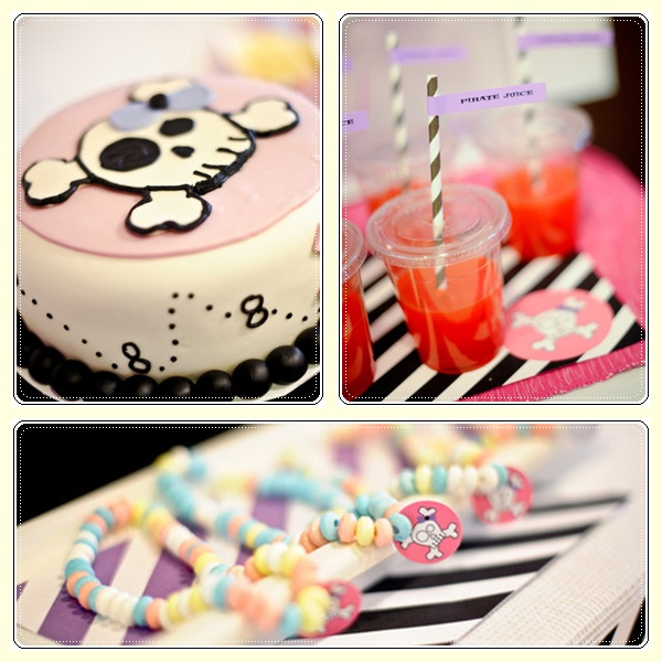 Una fiesta pirata para niñas