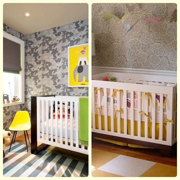 Empapelar la habitaci n del beb pequeocio for Papel para empapelar habitaciones
