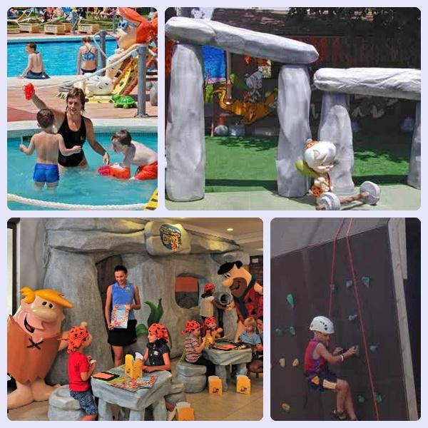 Viajar con niños: alojamiento Hoteles Picapiedras