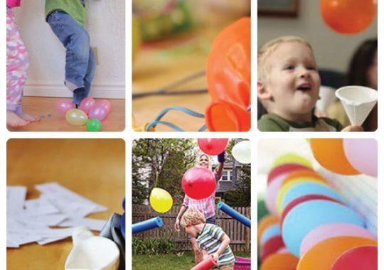 Juegos de cumpleaños con globos 2