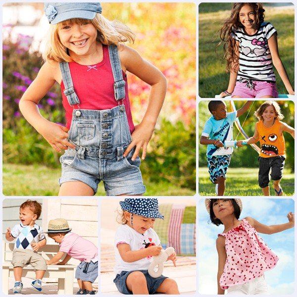 Moda niños H&M